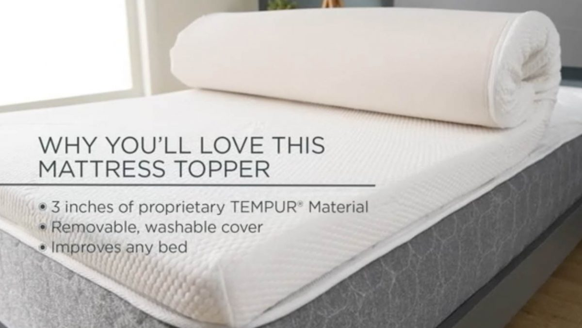 Best Memory Foam Mattress Topper Reviews 2020 – Luxuriously Soft & Comfy